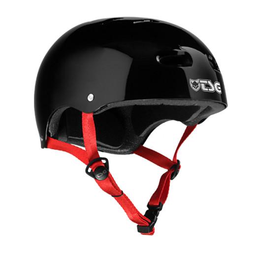 TSG SK8 Helmet - Glossy Black