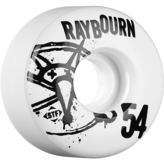 BONES WHEELS STF Pro Raybourn Numbers  54mm 4pk