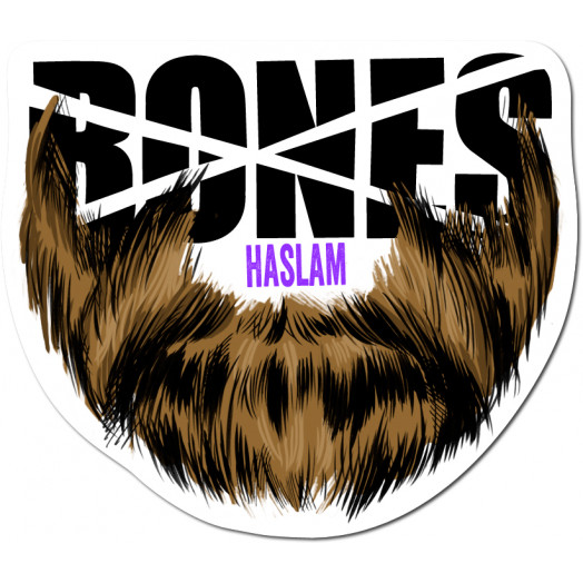 BONES WHEELS Pro Haslam Sticker single