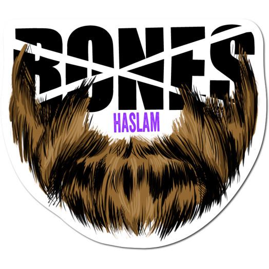 BONES WHEELS Pro Haslam Sticker single