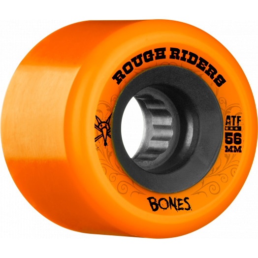 BONES WHEELS Rough Riders 56mm Orange Wheel 4pk