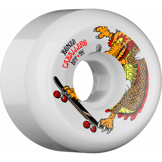 BONES SPF Pro Caballero Dragon 54x31 P5 Skateboard Wheel 84B 4pk