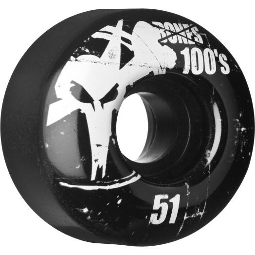 BONES WHEELS  OG 100 51mm Black 4pack