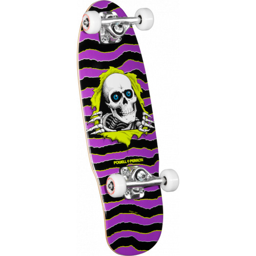 Powell Peralta Mini Ripper 3 Complete Skateboard Purple - 7.5 x 24