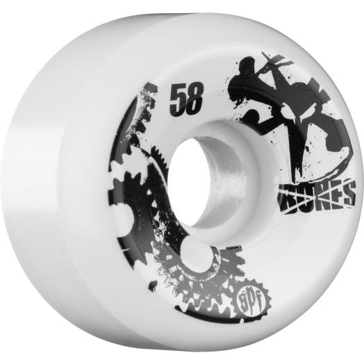 BONES WHEELS SPF Gear Head 58mm (4 pack)