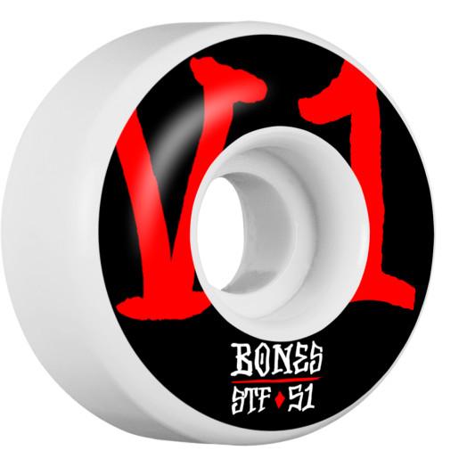 BONES WHEELS STF Annuals Skateboard Wheels V1 51mm 103A 4pk