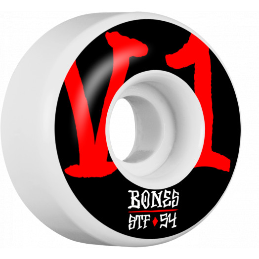 BONES WHEELS STF Annuals Skateboard Wheels V1 54mm 103A 4pk