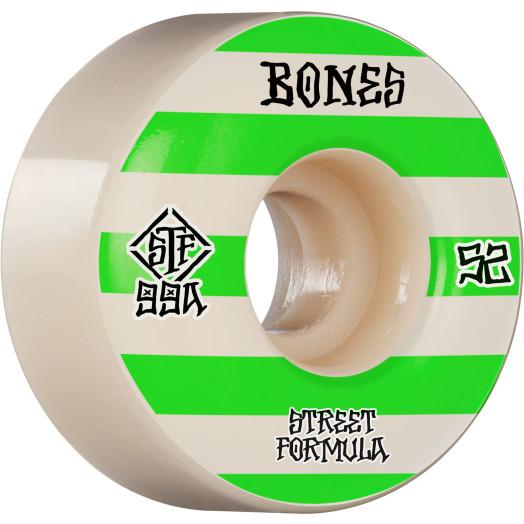BONES WHEELS STF Skateboard Wheels Patterns 52 V4 Wide 99A 4pk