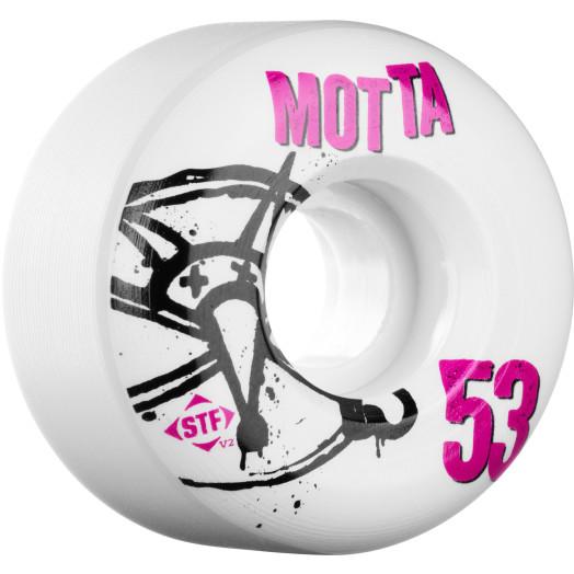 BONES WHEELS STF Pro Motta NUmbers 53mm 4pk