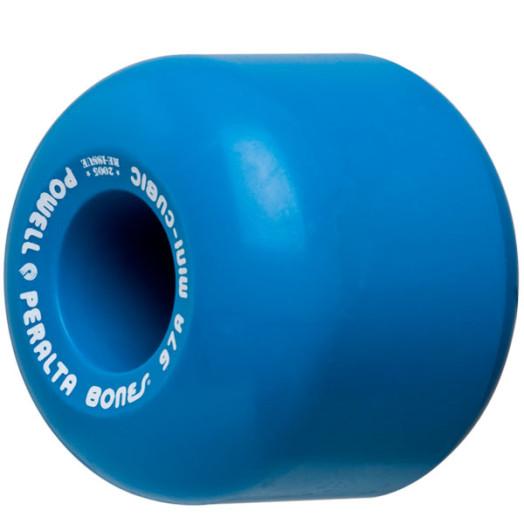 Powell Peralta Mini-Cubic 64mm/97a Blue Wheels (4 pack)