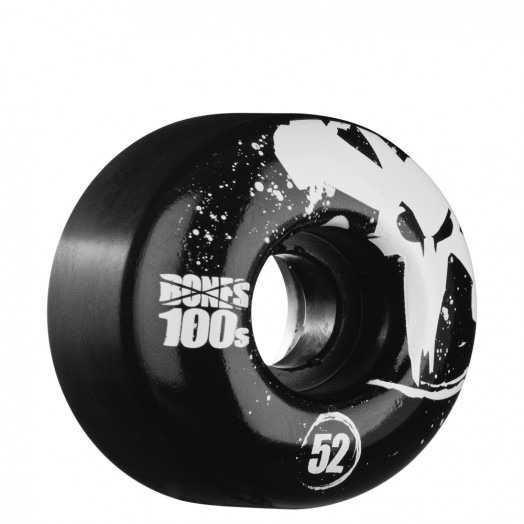 BONES WHEELS OG 100s 52mm - Black (4 pack)