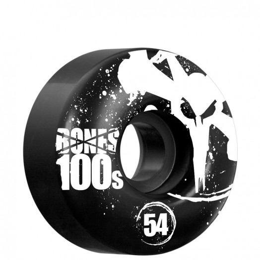 BONES WHEELS OG 100s 54mm - Black (4 pack)