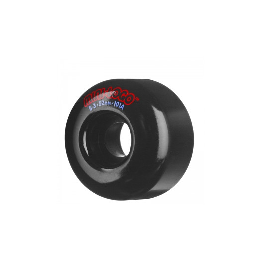 Mini Logo S-3 52mm 101a - Black (4 pack)