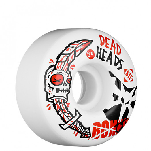 BONES WHEELS STF Dead Heads 54mm (4 pack)