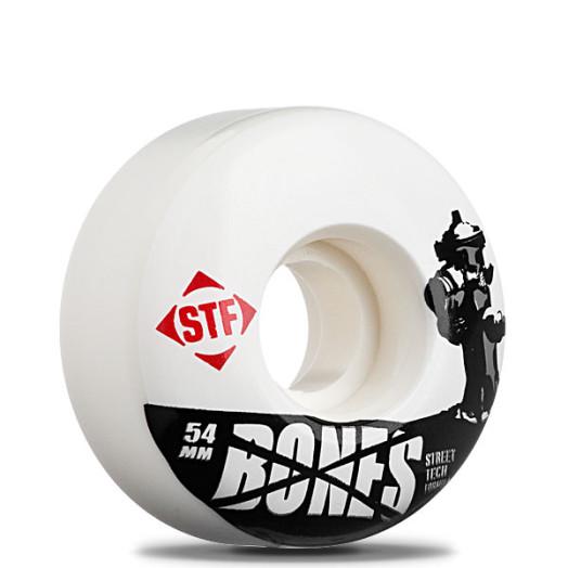 "BONES WHEELS ""Hydrant"" 54mm Street Tech Formula(4pack)"