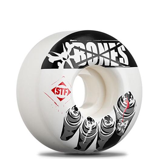 "BONES WHEELS ""Tagger"" 54mm Street Tech Formula(4pack)"