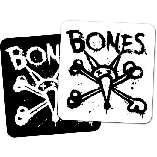 "BONES WHEELS Vato Op Square 4"" Single Sticker"