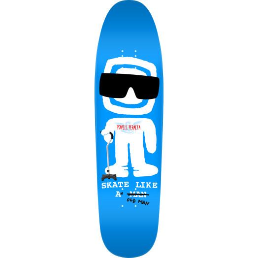 Powell Peralta Funshape SLAOM 3 Skateboard Deck Royal Blue - 8.4 x 31.5