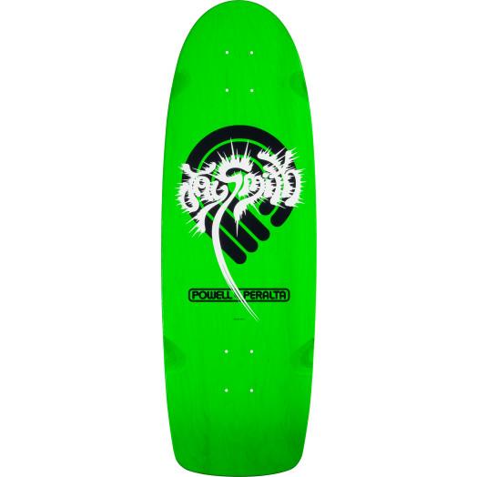 Powell Peralta Jay Smith Splash Skateboard Blem Deck Green - 10 x 31