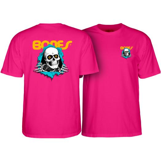 Powell Peralta Ripper T-shirt Hot Pink