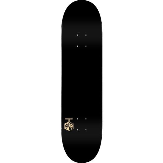 "MINI LOGO DETONATOR ""15"" SKATEBOARD DECK 242 K20 SOLID BLACK - 8 x 31.45"