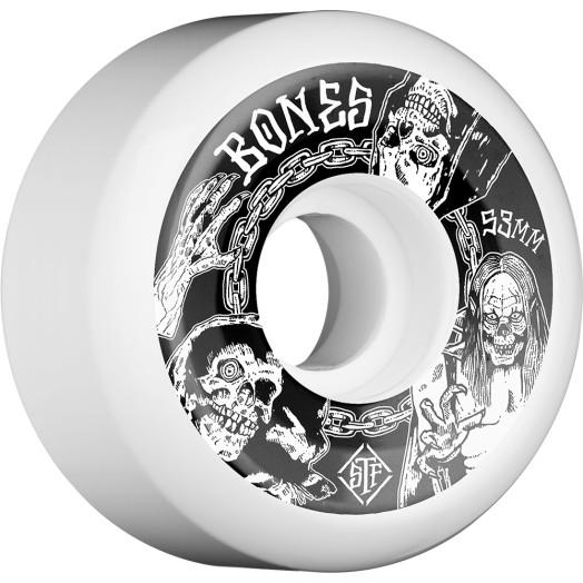 BONES WHEELS STF Terror Nacht Skateboard Wheels V5 53mm 103A 4pk