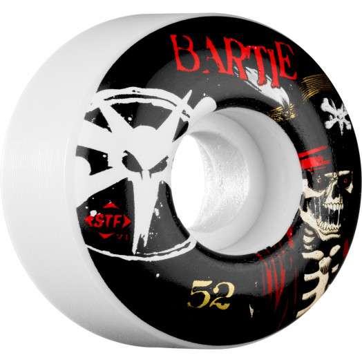 BONES WHEELS STF Pro Bartie Scurvy 52mm (4 pack)