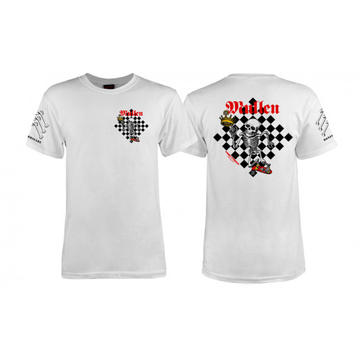 Bones Brigade® Mullen Chess T-shirt - White