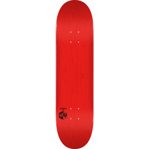 """MINI LOGO DETONATOR """"15"""" SKATEBOARD DECK 244 K20 RED - 8.5 x 32.08"""