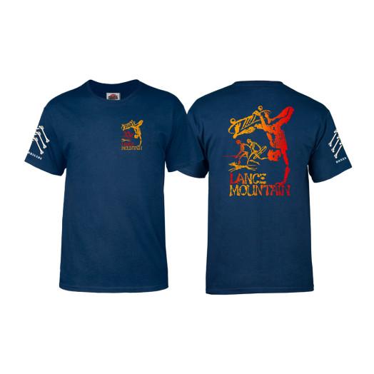 Bones Brigade® Mountain Future Primitive T-shirt - Navy