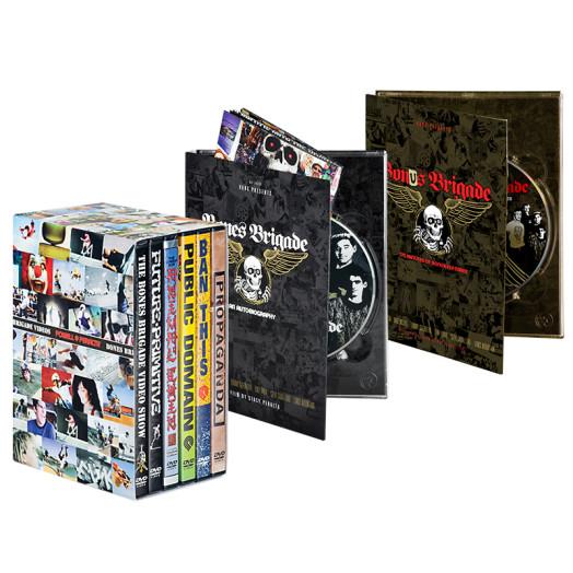 BONES BRIGADE: An Autobiography Blu-Ray/DVD + Bonus Brigade DVD + Bones Brigade DVDs 1-6 Combo