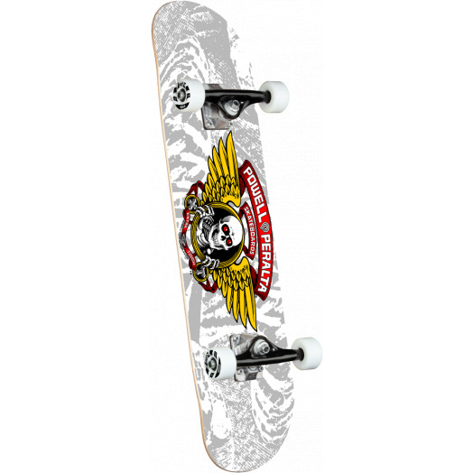 Powell Peralta Winged Ripper One Off Silver Birch Complete Skateboard - 8 x 31.45