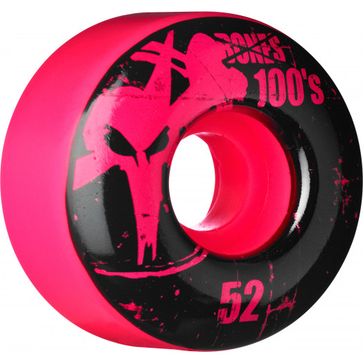 BONES WHEELS 100 Slims 52mm - Pink (4 pack)