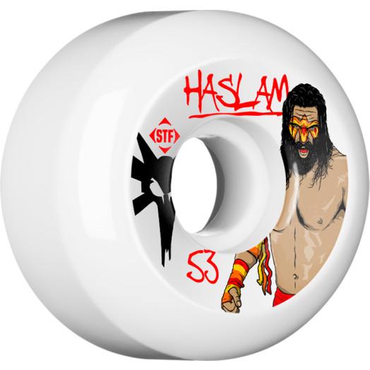 BONES WHEELS STF Pro Haslam WWF 53mm wheels 4pk