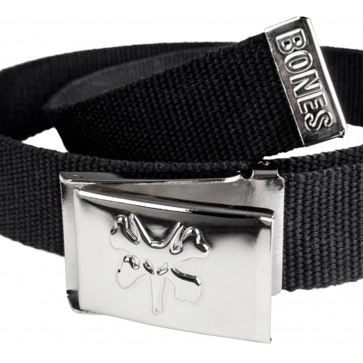 BONES WHEELS Belt Rat Bone Cotton