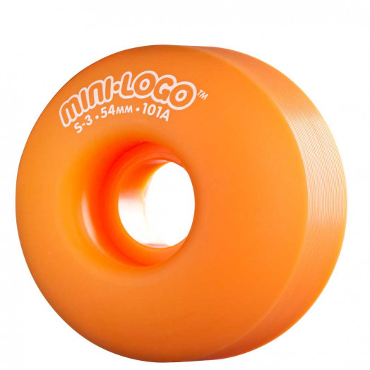 Mini Logo S-3 54mm 101a - Orange (4 pack)