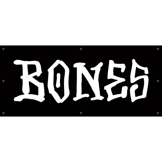 BONES WHEELS BW Banner