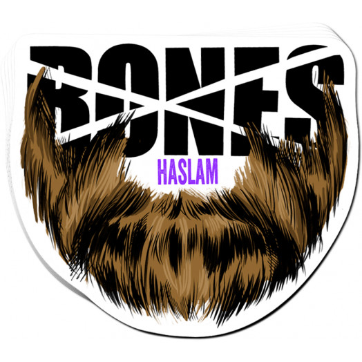 BONES WHEELS Pro Haslam Sticker 20pk