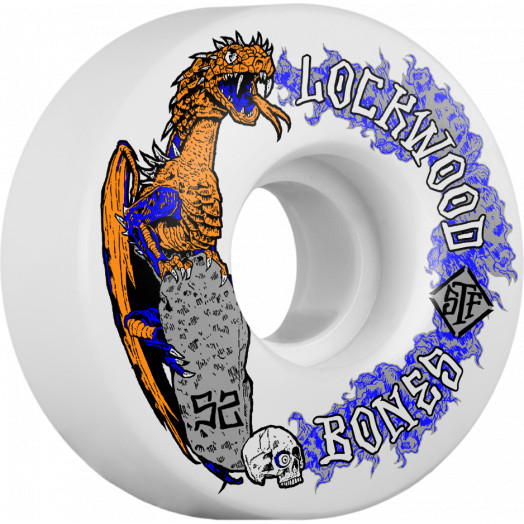 BONES WHEELS STF Cody Lockwood Dragon Skateboard Wheels V3 52mm 103A 4pk
