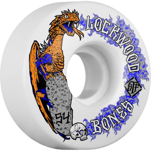 BONES WHEELS STF Cody Lockwood Dragon Skateboard Wheels V3 54mm 103A 4pk