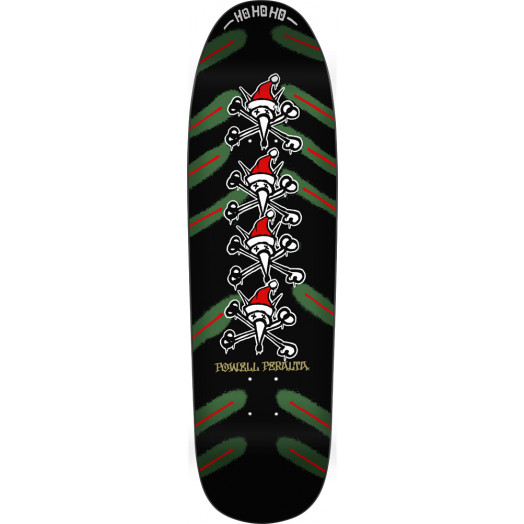 Powell Peralta Xmas Vato Rat Deck Black - 9.5 x 32.75