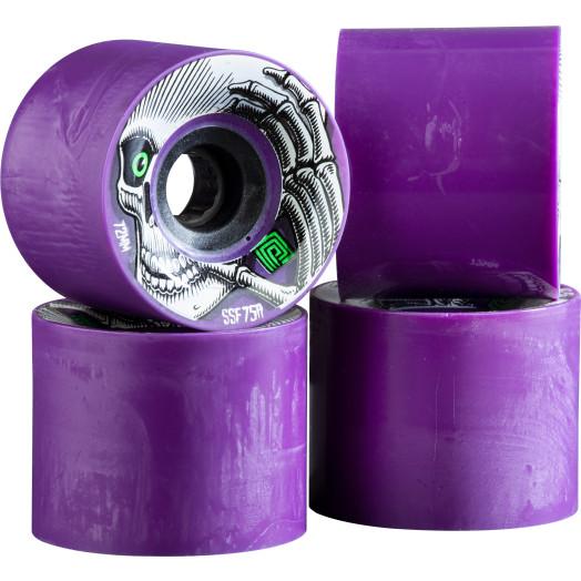 Powell Peralta Kevin Reimer Skateboard Wheels 72mm 75A 4pk purple - Cosmetic Blemish