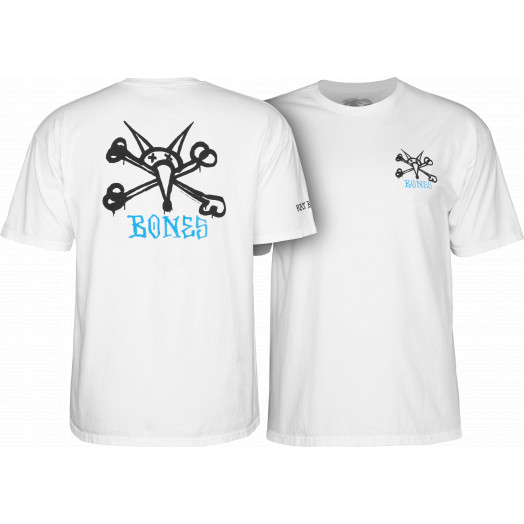 Powell Peralta Rat Bones YOUTH T-shirt - White