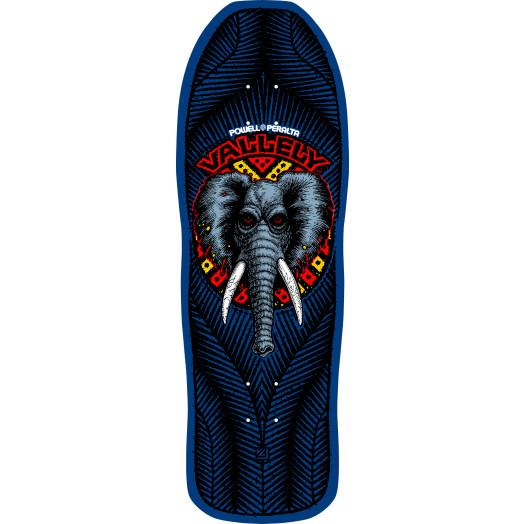 Powell Peralta Vallely Elephant Skateboard Deck Navy - 10 x 30.25