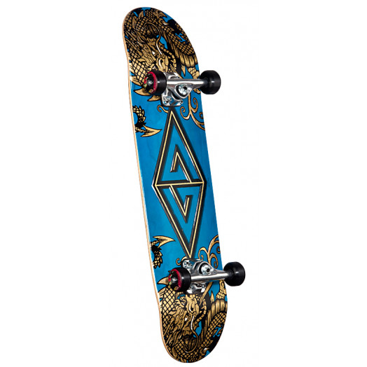 Powell Golden Dragon Two Dragons Complete Skateboard - 7.88 x 31.67