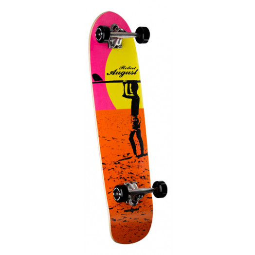 Surf One Robert August 4 Endless Summer Complete Skateboard - 9.375 x 36.125