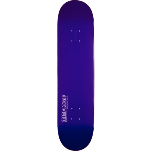 Mini Logo 112 K12 Skateboard Deck Purple - 7.75 x 31.75