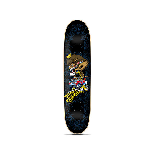Powell Wainwright Hot Rod Lion Skateboard Deck - 7.625 x 31.5
