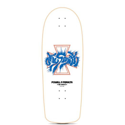 Powell Peralta Jay Smith Model Reissue White Skateboard Deck - 10 x 30.25