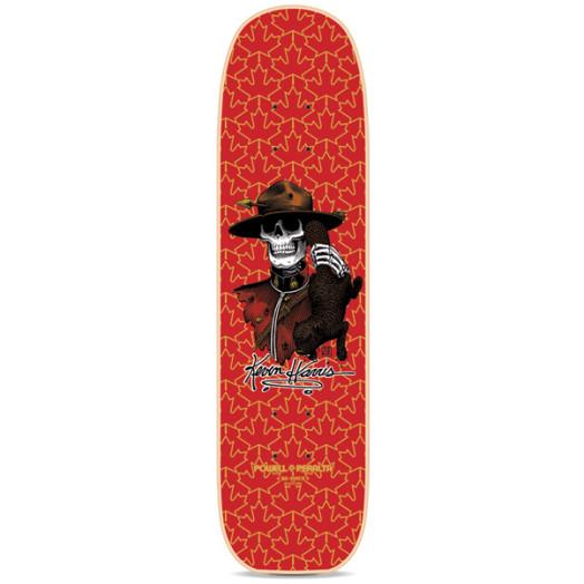 Powell Peralta Harris Mountie Reissue Skateboard Deck Red - 7 x 26.6